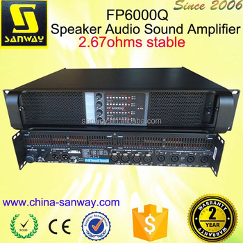 FP6000Q Speaker Audio Sound Amplifier
