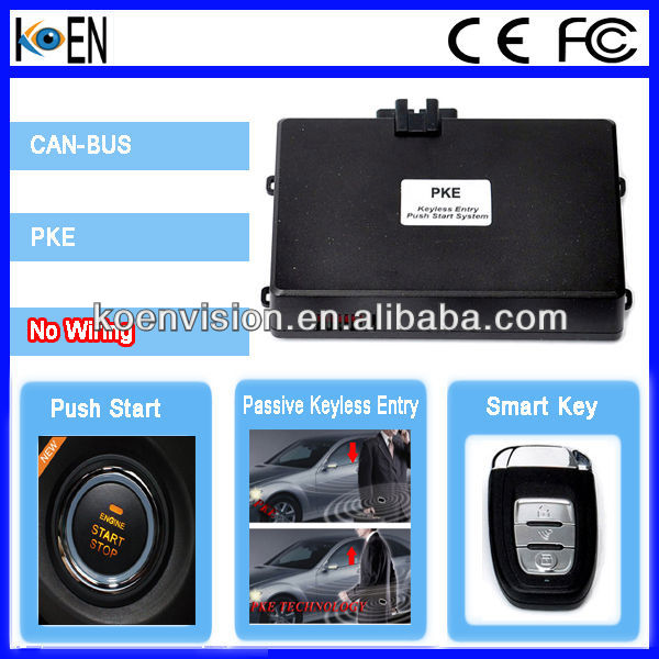 Car Keyless Start, China Alarm, Push Engine Start Button