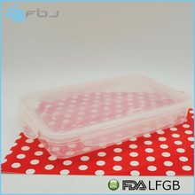 ~ Food Grade Eco Friendly Hot Lunch Box Containers with Dividers