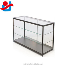 Fine Quality 4 Feet Black Full Vision Retail Store Display Showcase For Accessories,Ornaments
