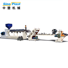 SINOPLAST Second Hand PP/PS Plastic Sheet Extruding Extruder Machine
