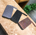 Long Zipper Lady's Wallet Fashion Sequins Wallet
