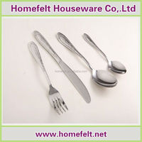 Durable types of hotel cutlery