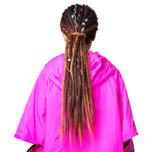 80 Colors In Stock Ombre Braiding Hair Synthetic Bulk Hair, salt and pepper colored hair for crochet braids