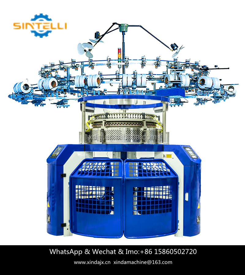 New Designing High Quality Single Electronic Jacquard Circular Knitting Machine