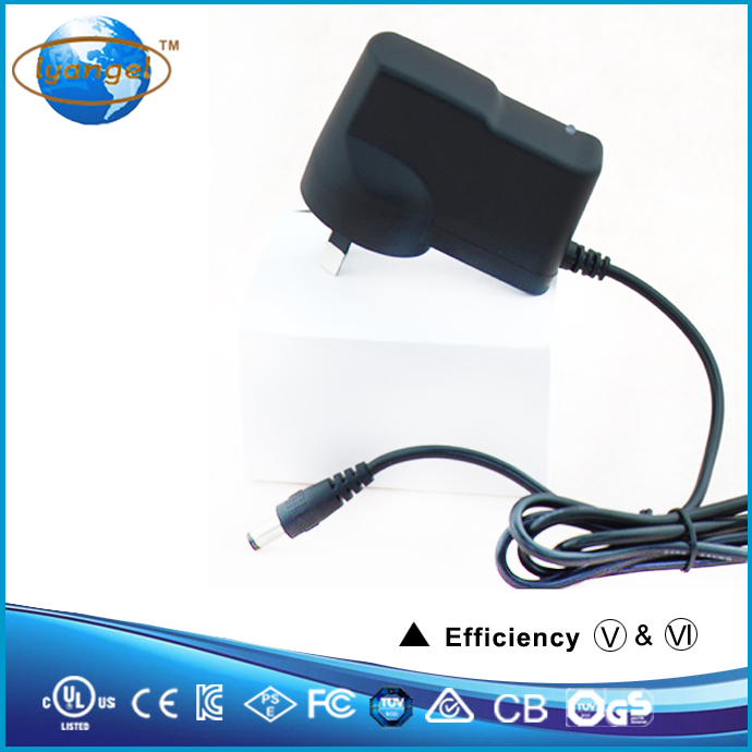 ce ul fcc approval factory direclty sale wall plug universal 12v 5a battery charger for electronic products