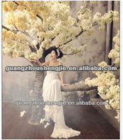 High quality artificial white cherry tree,fake cherry tree decoration,fake white cherry tree for wedding