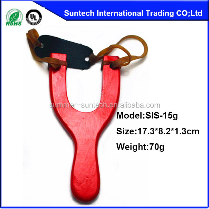 wood slingshot and wood catapult for children to play kid slingshot toy for learner wholesale