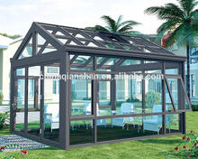 new design popular european style polycarbonate sunroom for garden