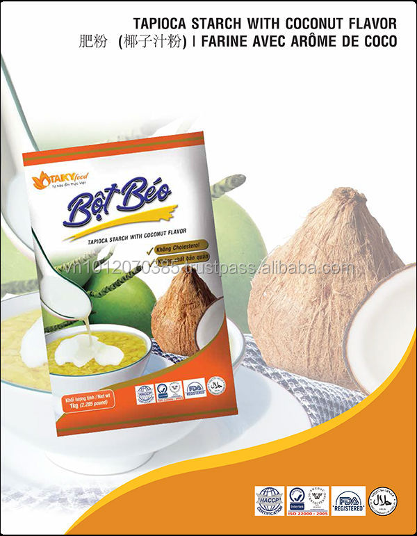 Vietnam Tapioca Starch With Coconut Flavor 1Kg FMCG products