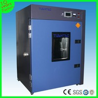 Chamber usage and electronic power paint drying oven touch screen controller
