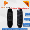 Excel Digital 6 Axes Gyroscope 2.4Ghz Wireless Mini air mouse with hebrew keyboard for smart tv