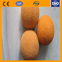 low prices concrete pump spare parts / dn125 concrete pump sponge rubber cleaning ball/cylinder