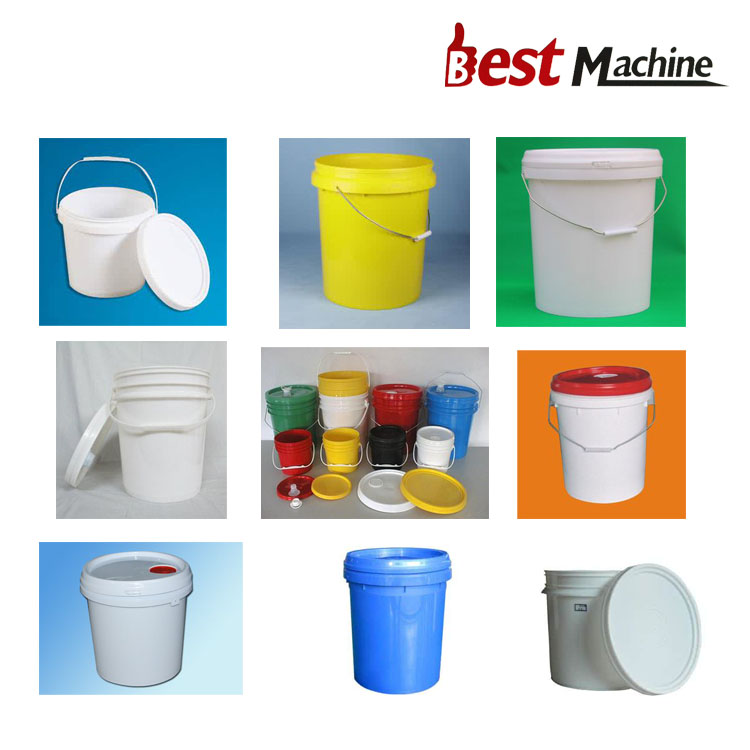 plastic paint bucket moulding making machine price