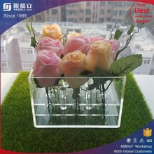 customized dependable performance plexiglass rose display stand clear acrylic flower