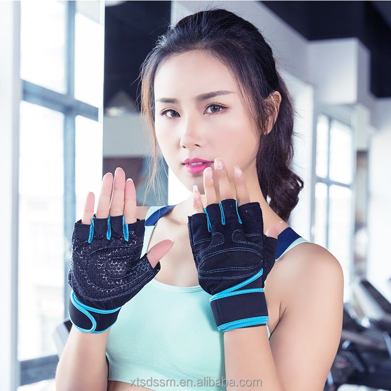 Custom Best Gym Fitness Cross Training power lifting wrist wraps Weight Lifting Gloves Wrist Wraps Support