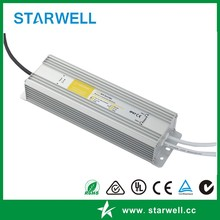 Constant current 3.3a 118w transformer led driver waterproof ip67 power supply single output led driver WTF-E363300A