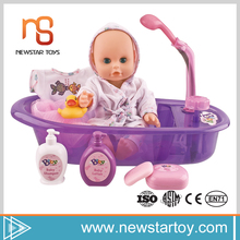 Wholesale 12 inch bath toys plastic mini craft dolls with best price