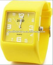 2012 Colorful Fashion Silicone Top Brand Watch
