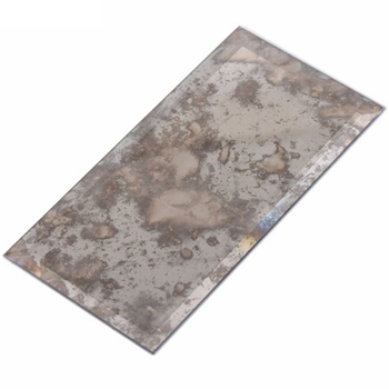 Shanghai China Supplier Environmental friendly antique mirror glass tiles