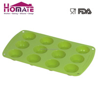 12 Cavity Round Silicone Molds for Soap Making