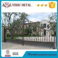 Factory Direct Supply Metal Driveway Gates