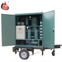 Portable Insulation Oil Filtration Refinery With Dielectric Strength Tester
