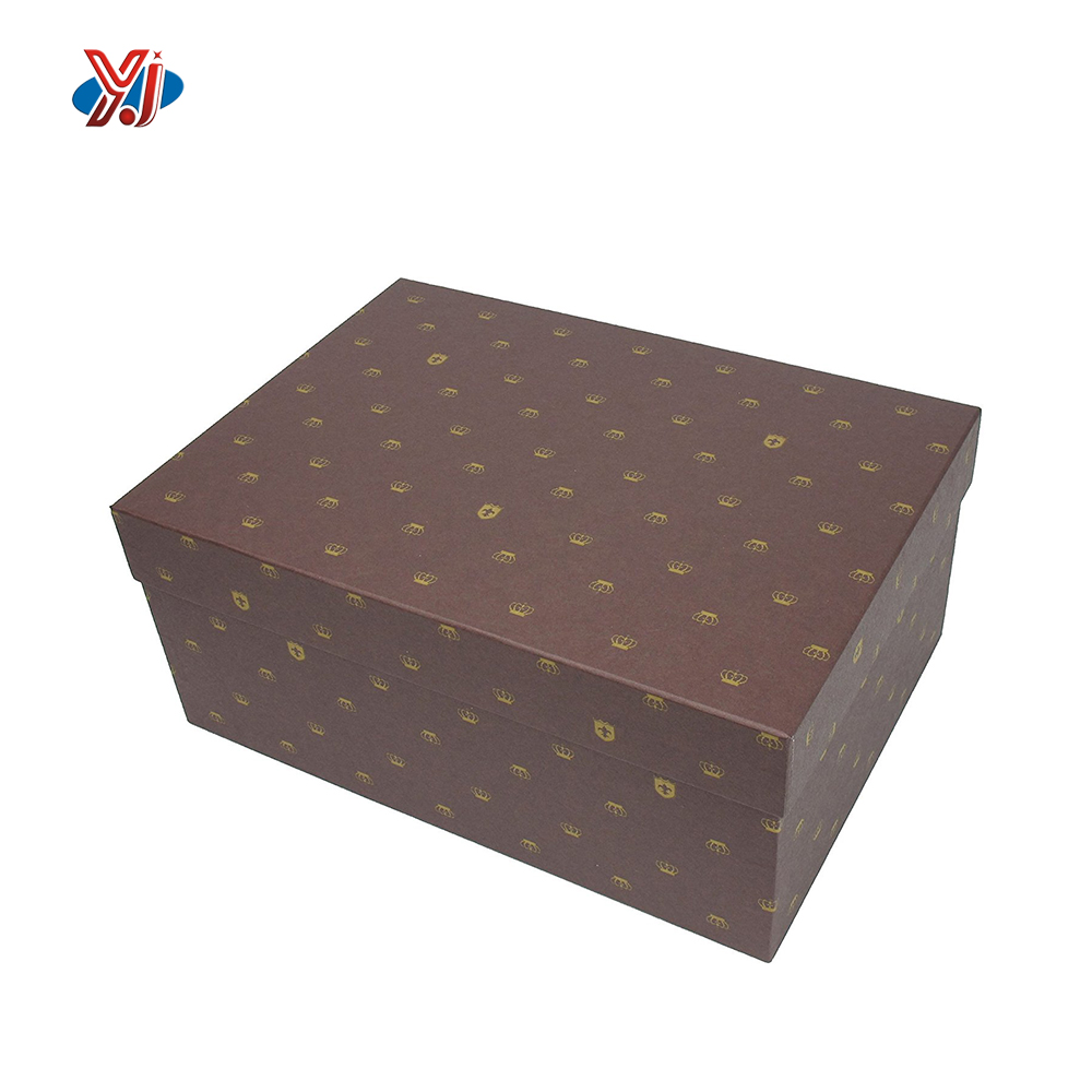A4 size elegant luxury jewlery paper printed gift packaging box