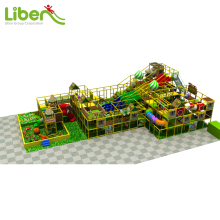 Daycare Center Plastic Material Indoor Playground for Chidlren