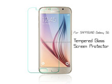 2015 new product for Samsung galaxy S6 anti-scratch anti-fingerprint tempered glass screen protector/film/guard/cover/foils