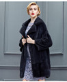 Womens Trend Mink Fur Coat Custom Branded Deisgn Fur Coat Facrory