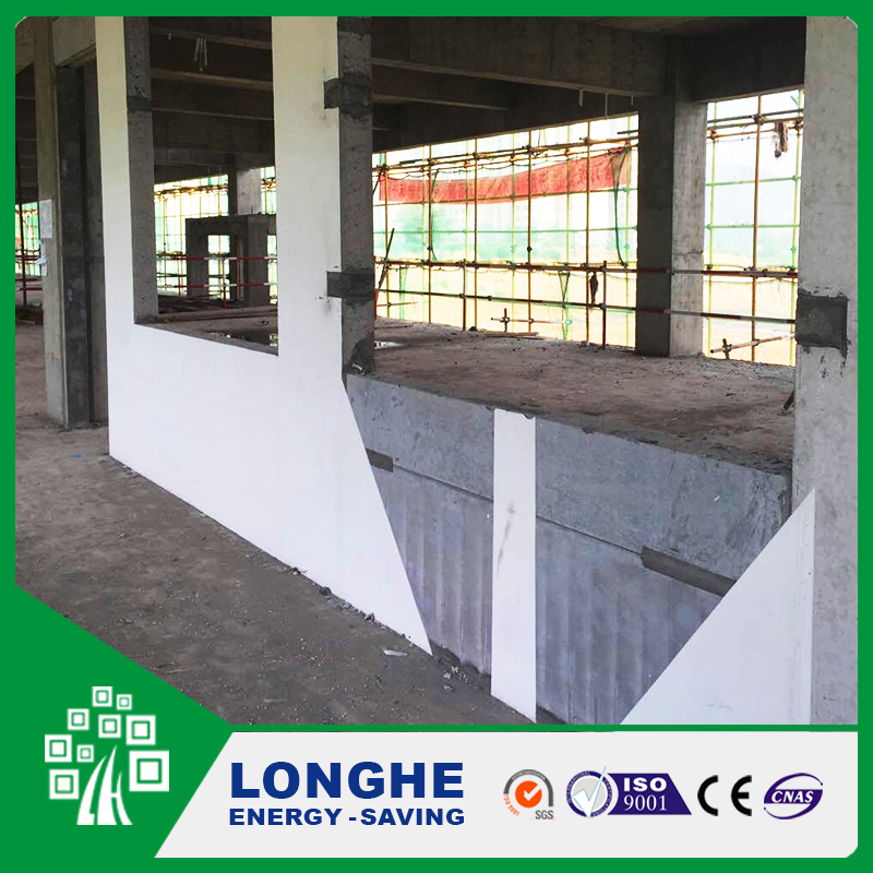 100 mm fiber cement eps sandwich wall panel for India building material