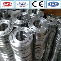 Valve flange forged DIN 316 stainless steel plate flange
