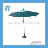 Shipping on time Normal garden umbrella with led light led patio umbrella