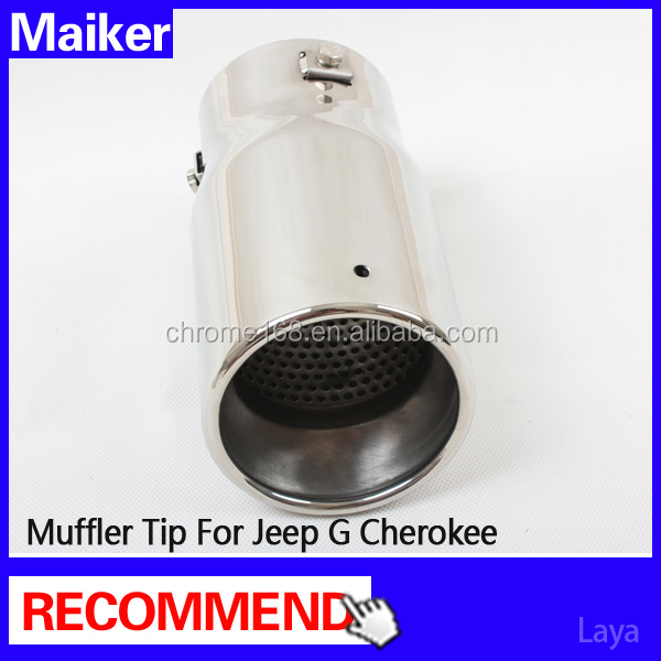 exhaust tip auto accessories for Jeep Grand Cherokee parts Muffler Tip,Muffler Pipe from maiker