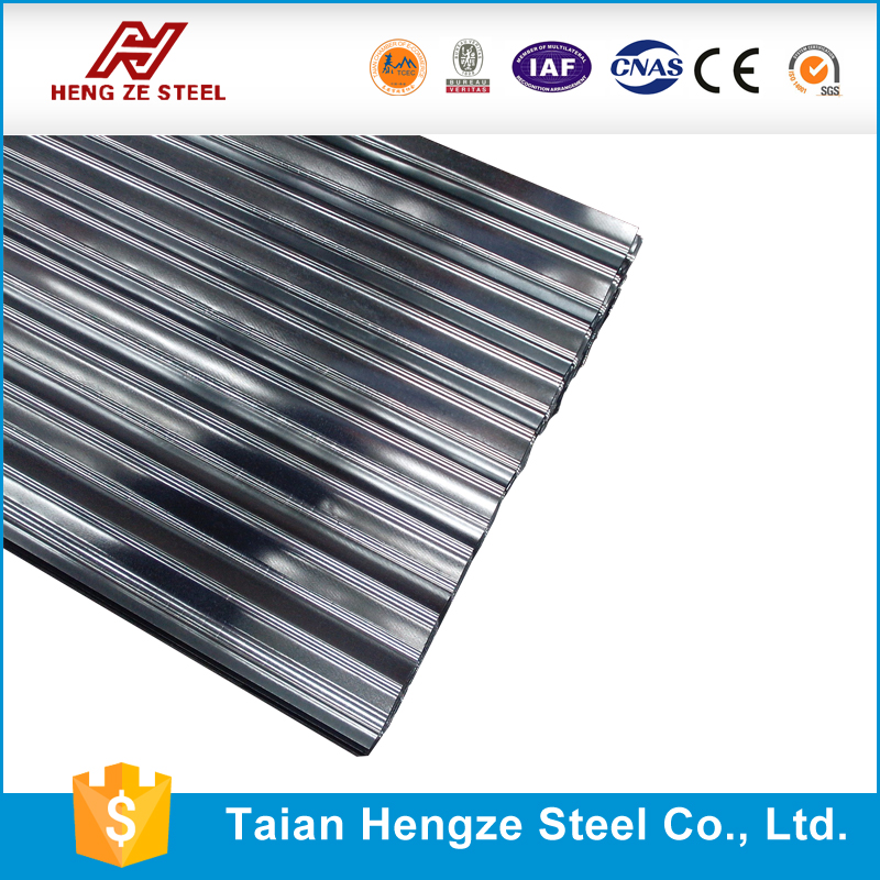 Galvanized Sheet building Material gauge 20 zinc aluminium coating corrugated galvalume roofing sheets
