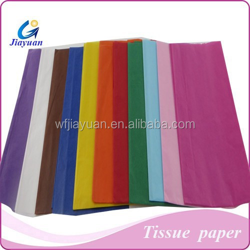 14gsm-22gsm flame retardant tissue paper,colorful fireproof tissue wrapping paper
