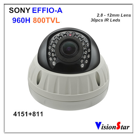 The Most Competitive Price 800TVL 960H CCD 2.0MP OSD Menu Support External UTC Controller IR Vandalproof Dome Bullet CCTV Camera