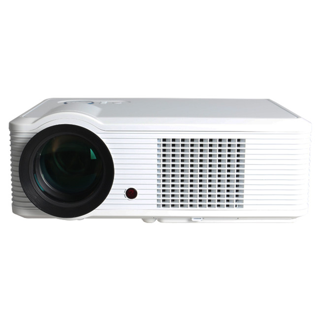 2017 Full HD Multimedia Projector LED 1080P Support for Home Theater