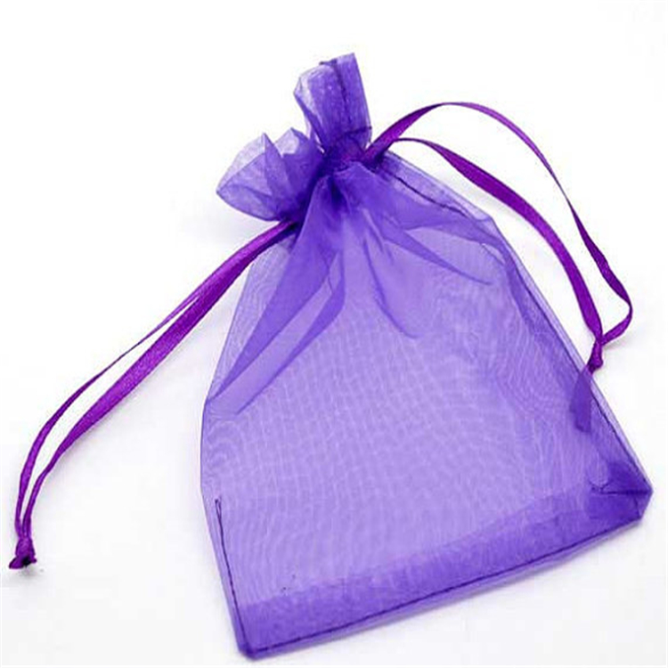 Mixed Pattern Plastic Jewelry Gift Bag