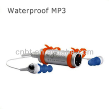 Digital Waterproof MP3 Player, Audio format: MP3, WMA , 8GB