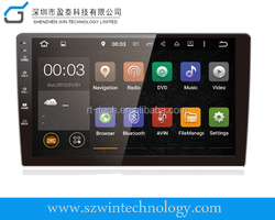 On sale!!! Android 5.1.1 OS Quad core 1.6ghz Bluetooth DVD GPS Wifi 3G Dongle Mirror link cheap Car dvd player