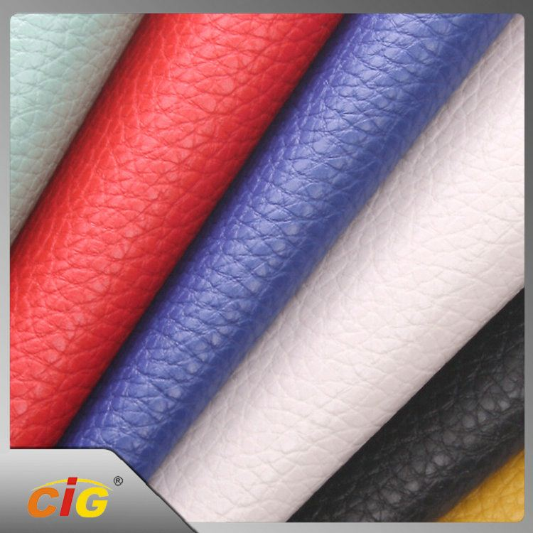 OEM Available Good Feedback 100 polyester leather like fabric
