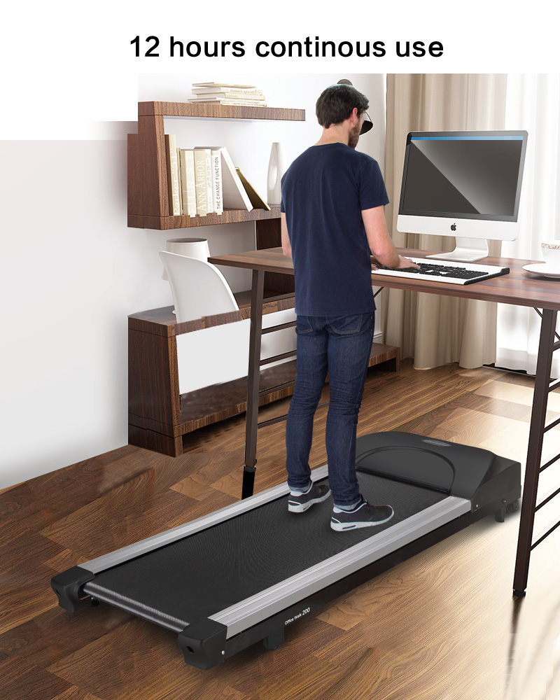 2017 New design portable office fitness walking treadmill equipment with long life
