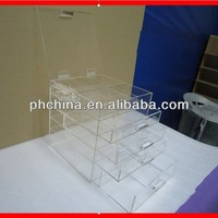 Factory sell customized size 97% Acrylic Storage Box With Drawers/Custom multipurpose Storage Cabinets
