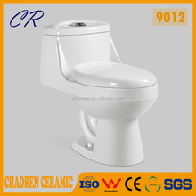 siphon bathroom ceramic one piece floor mounted wc toilet