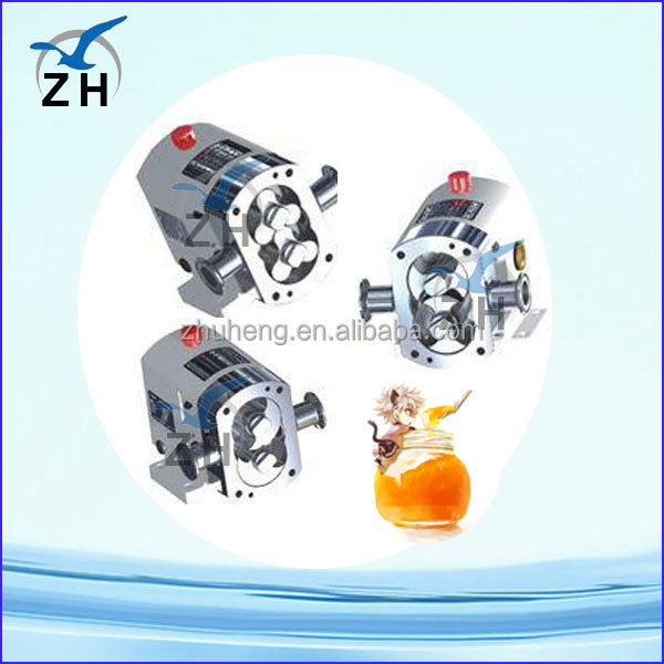 self priming lobe pump food grade hydraulic grout pump
