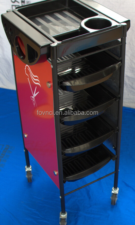 Salon Furniture Hairdressing Trolley Professional Hair Salon Trolley Cart Salon Furniture