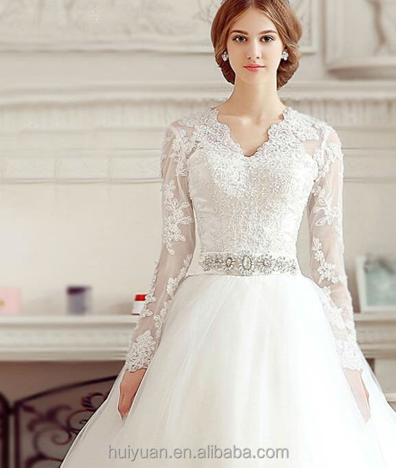 2017 white Elegant Sleeveless Alibaba Wedding Dress For Bridal