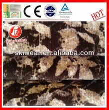 antistatic fireproof acrylic and wool blend knitted fabric